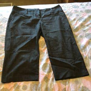 ❣️3 for $15 Dark Denim Fabric dressy capris